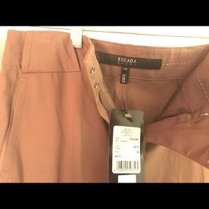Escada new brown trousers